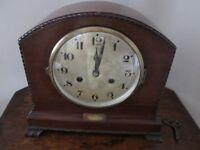 Mantle Clock By Fattorini of Bradford