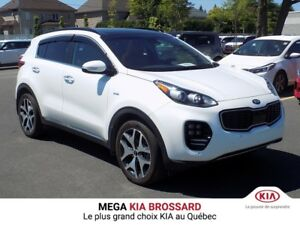 2018 Kia Sportage SX Turbo AWD CUIR GPS APPLE CARPLAY