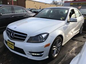 2014 Mercedes-Benz C-Class C300, AWD, Leather, Sunroof, Heated S