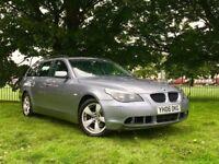 2006 BMW 5 SERIES 520D ESTATE *** AUTOMATIC **** LONG MOT ( NO ADVISORY ) ** SERVICE HISROTY