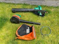 Black & Decker Leaf Blower / Garden Vacuum