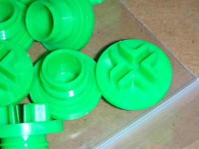CAPLUG USA MSP-14 X 1.5 Metric M14x1.5 Threaded Screw-In Plastic Sealing Plugs
