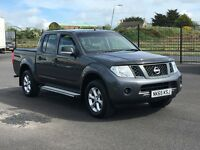 2015 NISSAN NAVARA 2.5 DCI VISIA DOUBLE CAB PICK UP. ONLY 13000 MILES BY 1 OWNER. NO VAT. NO VAT.
