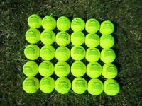 TENNIS BALLS (Used) 30 -- £10