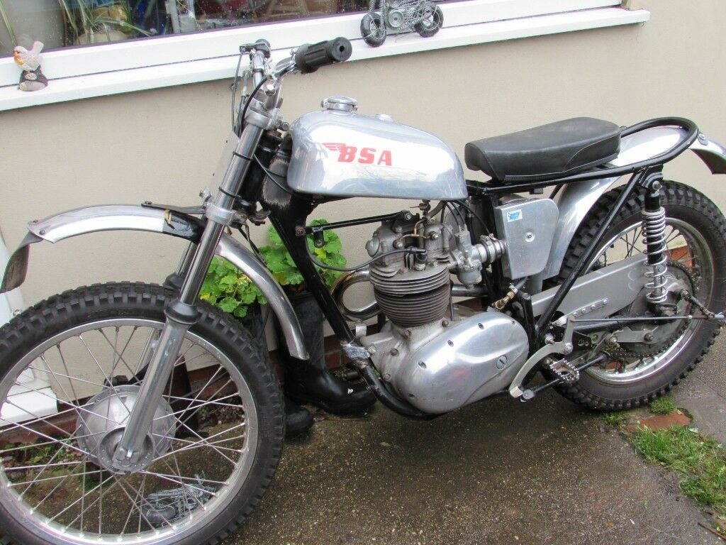 Bsa B40 Trails Bike B40 Engine In B50 Frame In Carlton Nottinghamshire Gumtree