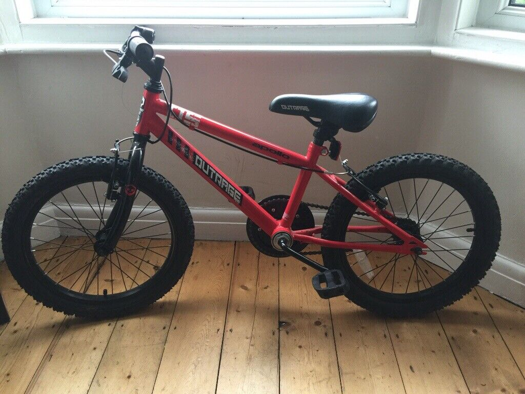 """6645cf77f74d Kids bike, 18"""" Apollo outrage 