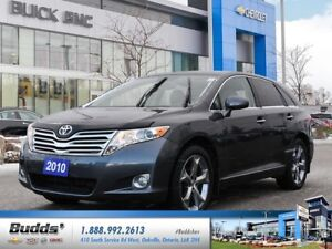 2010 Toyota Venza V6 Certified Pre-Owned, ONE OWNER, LEATHER...