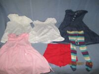 Girl baby clothes 9 - 12 months