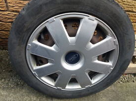 Ford Focus Rims with NewTyres 205/55R16