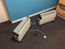 Electric heaters free delivery fully working