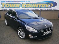 ***Sep 2011 Peugeot 508 ALLURE HDI **ONLY 66k!!!**£30 TAX**TOP SPEC**( 407 passat vectra mondeo taxi