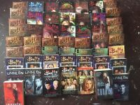 Selection of buffy and Angel books