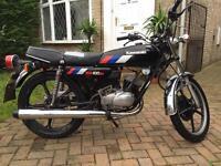 Kawasaki kh100 1990 black rare
