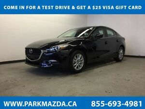 2018 Mazda Mazda3 SE FWD - Bluetooth, Backup Cam, Heated/Leather