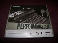 Shure PG1288 - Dual Combo Guitar / Bass Wireless System or Microphone.