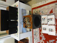 Q Acoustic 6 speakers system all Casing are in mint Condition see pics