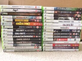 Xbox 360 Games (Can be played on Xbox One)