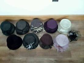 Bargain! Wedding hats and fascinator
