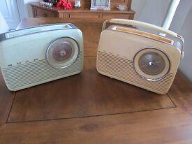2 Bush Radios for sale or repair