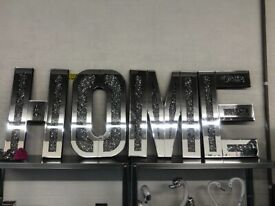 New HOME wall letters 💎