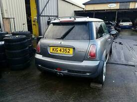 BMW MINI JCW JOHN COOPER WORKS REAR BUMPER COMPLETE GENUINE R53 R54 CAN POST ANYWHERE WITH THE U.K.