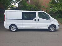 Vauxhall, VIVARO, LWB, CREW Panel Van, 2012, Manual, 1995 (cc)