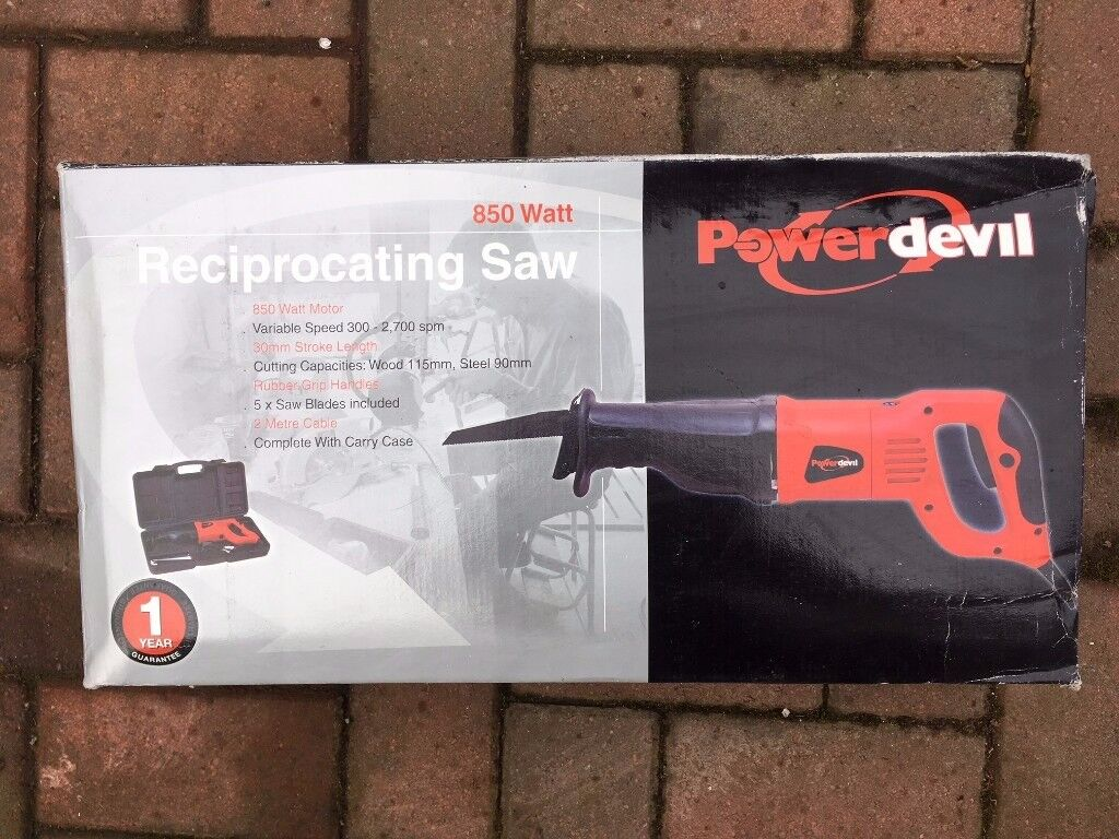 Powerdevil Reciprocating Saw