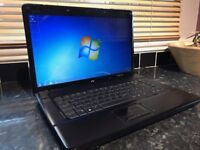 HP Compaq 15 inch Laptop Windows 7 and Full Office