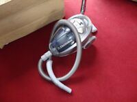 small silver electrolux hoover in working order