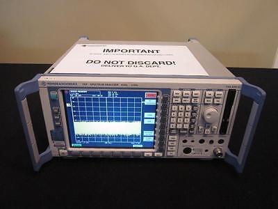 Rohde Schwarz Fsp3 9 Khz To 3 Ghz Spectrum Analyzer - Calibrated
