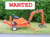 DIGGER, SMALLEY, POWERFAB OR WALKING OR TRACKED ANY CHEAP DIGGER WANTED