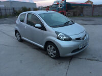 Toyota Aygo 2006 Silver Manual