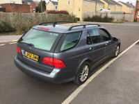 06 plate saab 95 2.3 turbo estate 5 months test full service history £995 ono
