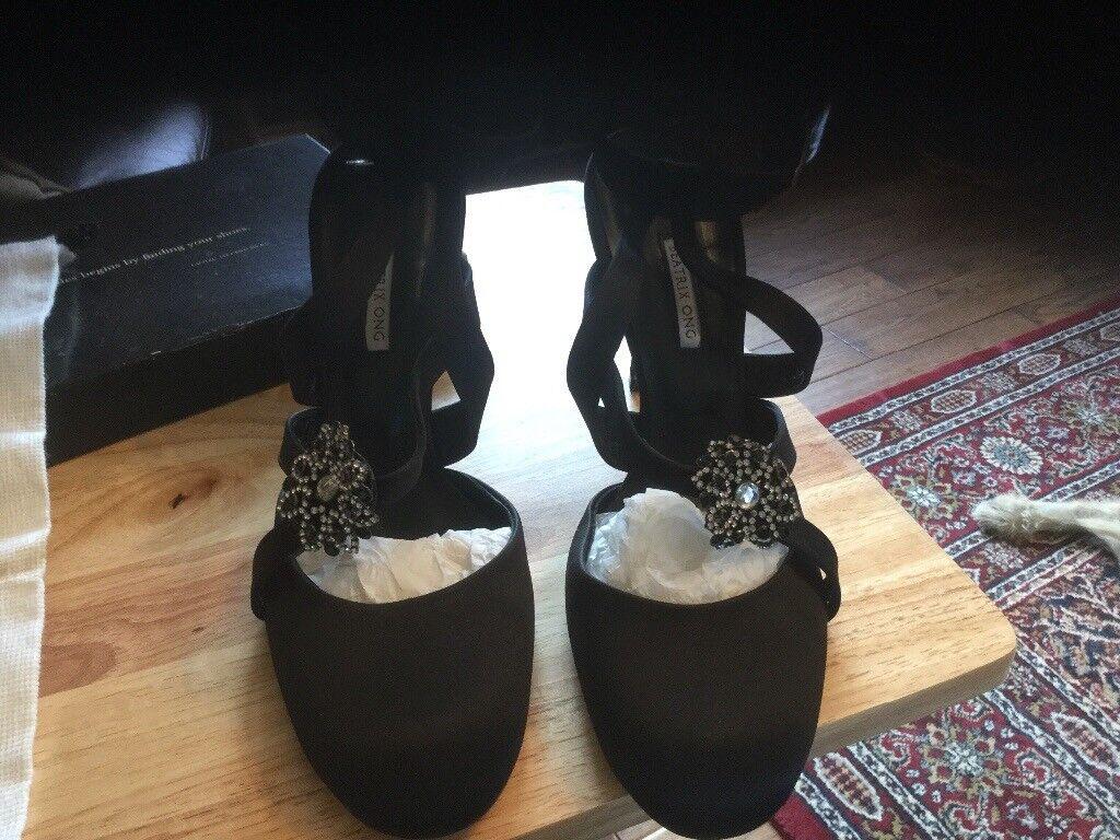 7629d2e5d91ac8 Beatrix Ong Black High Heel Shoes
