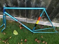 BATES CLASSIC VINTAGE ROAD RACING FRAME + See My Ads For HETCHINS PARIS GILLOTT BUTCHERS BIKES