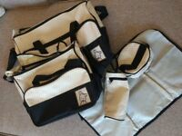 5 piece baby changing bag