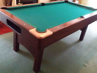 Pool Table BCE 2000 series approx 6 x 3