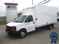 2014 Chevrolet Express 4500 16 ft - UniCell Fiberglass Body Van
