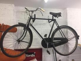 Vintage Raleigh bicycle.