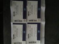 4 x Take That Tickets 06/06/2017 at London O2 £60 each