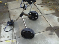 """EVOLUTION PLUS"" STRONG GOLF TROLLEY"