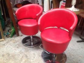 Barbers chairs hydraulic