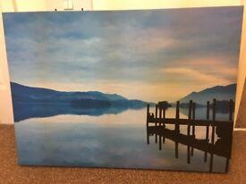 Beautiful landscape canvas