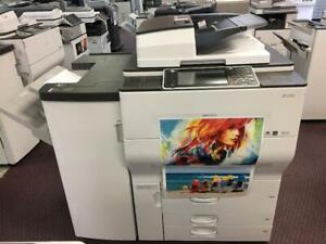 Ricoh MP C6502 Color Printer Photocopier Light Production Machine Copiers for Print Shop BUY LEASE Colour B/W rinters