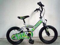 "(646) 14"" BRITISH EAGLE Boys Girls Kids Childs Bike Bicycle+STABLISERS Age: 3-5 Height:95-110cm"