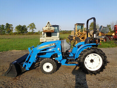 Ls Xg3135h Tractor Only 59 Hours 4wd Loader W Ssl Qa Hydro