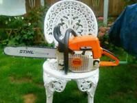 Stihl ms290 woodboss chainsaw
