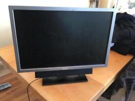 Dell monitor and soundbar