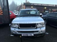 LAND ROVER RANGE ROVER SPORT 2.7 TDV6 SPORT HSE 5d AUTO 188 BHP (silver) 2008