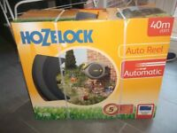 "HOZELOCK 40M(131"") AUTO REEL GARDEN HOZE 2595 BNIB"
